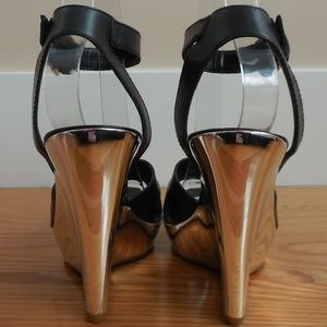 7 For All Mankind Shoes - $275~7 For All Mankind~Mirror Heel Leather Sandals